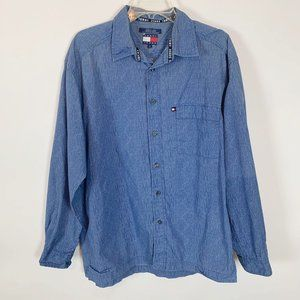 (3 for $25) Tommy Jeans Button Up Shirt Size Large